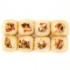 Харумаки  с лососем терияки